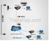 HDMI Over Fiber Optic & CAT5e/6 Network Extender with RS-232
