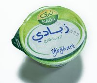 Yogurt lidding die cut