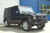 Armoured Mercedes G500 in B...