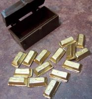 Gold Bars, Rough Diamond, G...